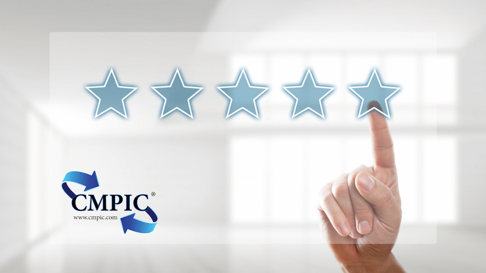 Student rating CMPIC class with a five (5) star review on testimonial.